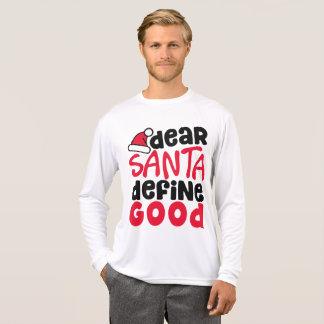 Camisa engraçada da luva do Natal | do caro papai