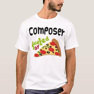 Camisa (engraçada) da pizza T do compositor