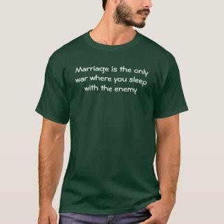 Camisa engraçada do casamento