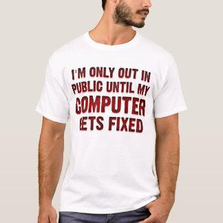 Camisa engraçada do Gamer do geek do computador