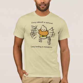 Camisa engraçada do humor da aviação do pato