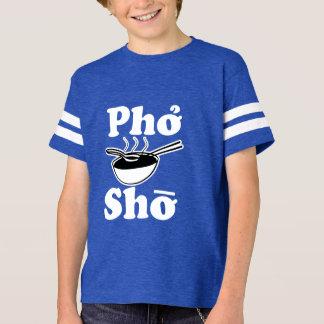 Camisa engraçada do menino dos miúdos de Pho Sho