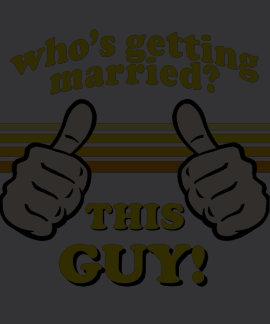 Camisa engraçada do noivo t-shirts