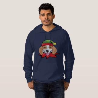 Camisa engraçada do presente do Natal do duende do