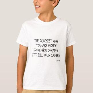 Camisa engraçada do slogan