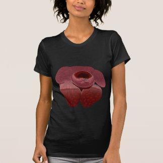 Camisa escura de Rafflesia T, senhora T-shirts