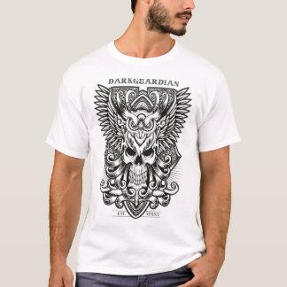 Camisa escura do design do guardião