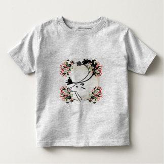 camisa extravagante bonito da criança da flor dos