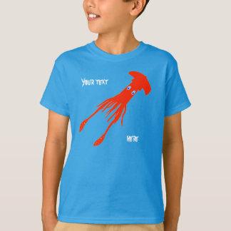 camisa feita sob encomenda do calamar