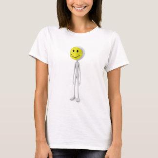 Camisa feliz da máscara do smiley