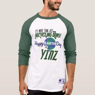 Camisa feliz do basebol de Yinz do Dia da Terra