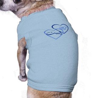 Camisa fêmea árabe camisa sem mangas para cachorro