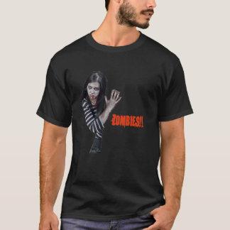 Camisa fêmea do zombi