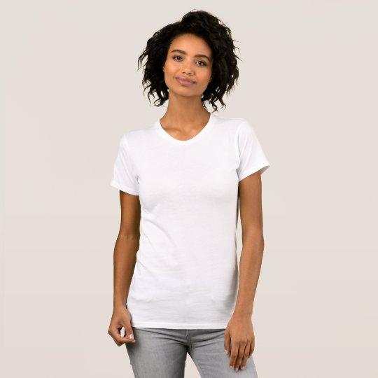 Camiseta Justa Feminina, Branco