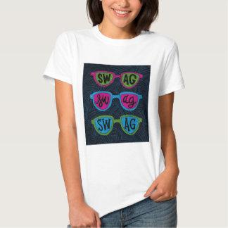 camisa feminina oculos swag t-shirt
