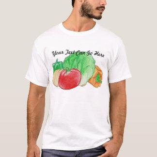 Camisa fresca dos vegetarianos