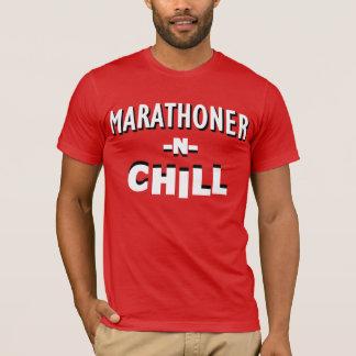 Camisa fria de N do Marathoner '