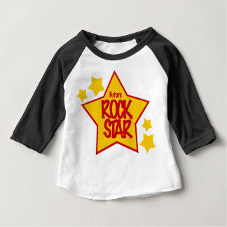 Camisa futura da estrela do rock T