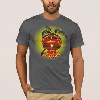 Camisa grande da chave do pinho de Florida