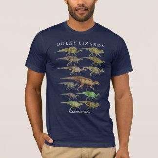 Camisa Gregory Paul do dinossauro do hadrosaur do