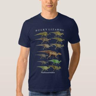 Camisa Gregory Paul do dinossauro do hadrosaur do Tshirt