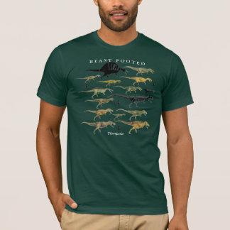 Camisa Gregory S. Paul do dinossauro de Theropoda