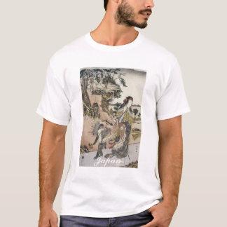 Camisa japonesa antiga da arte