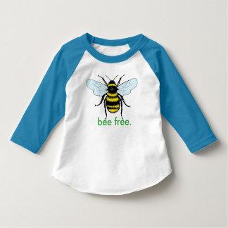 Camisa livre dos miúdos da abelha