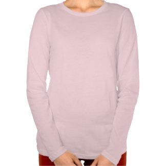 Camisa longa apta relaxada mulheres da luva do camiseta