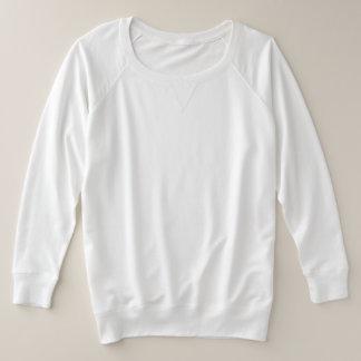 Camisa longa da luva de Terry do francês do