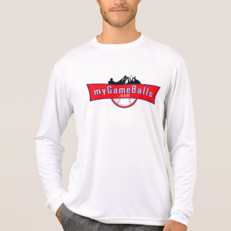 Camisa longo-sleeved Microfiber de MyGameBalls