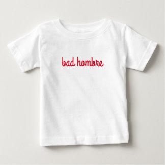 Camisa má do bebê de Hombre