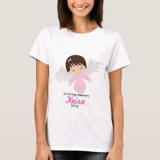 Camisa memorável do anjo do bebê - perda de bebé