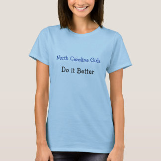 Camisa North Carolina do orgulho do estado