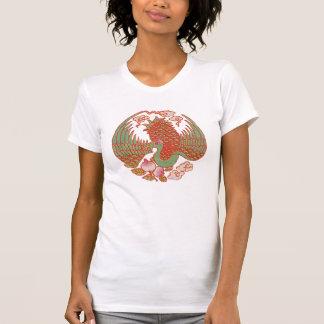 Camisa oriental do faisão T Camisetas