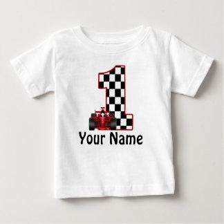 Camisa personalizada carro de corridas do primeiro