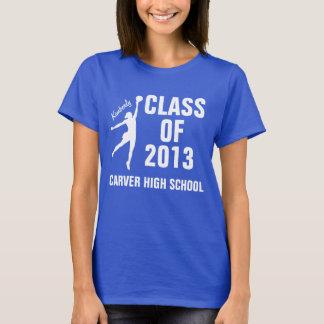 Camisa personalizada da graduação: Silhueta do
