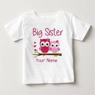 Camisa personalizada da irmã mais velha coruja