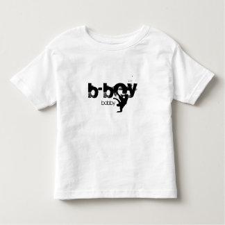 "Camisa personalizada do b-menino. ""adicione seu t-shirt"