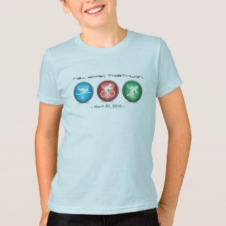 Camisa personalizada do Triathlon - natação,