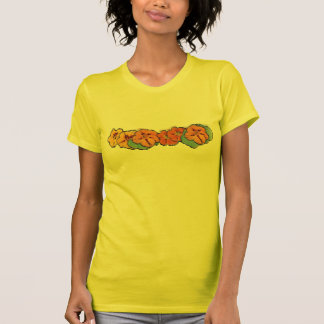 Camisa pintada das chagas t-shirts