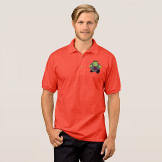 Camisa Polo Desenhos animados bonitos do divertimento de um