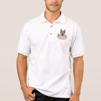 Camisa Polo Desenhos animados do german shepherd