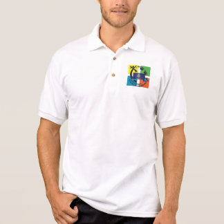 CAMISA POLO DIVISA GEOCACHING DE KANSAS DO ESTADO