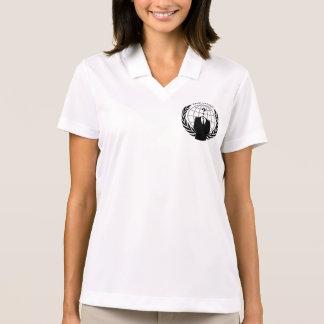 Camisa Polo Gráfico anónimo legal do Logotype