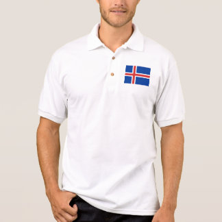 Camisa Polo Islândia