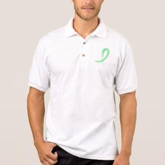 Camisa Polo Luz da doença celíaca - fita verde A4