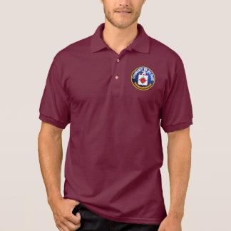 Camisa Polo O cristo está vivo - ícone do CIA idêntico