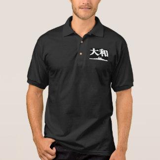 Camisa Polo Pólo de Yamato da navio de guerra