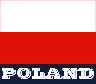 8050d891e1 Camisa Polo Pólos feitos sob encomenda da bandeira polonesa